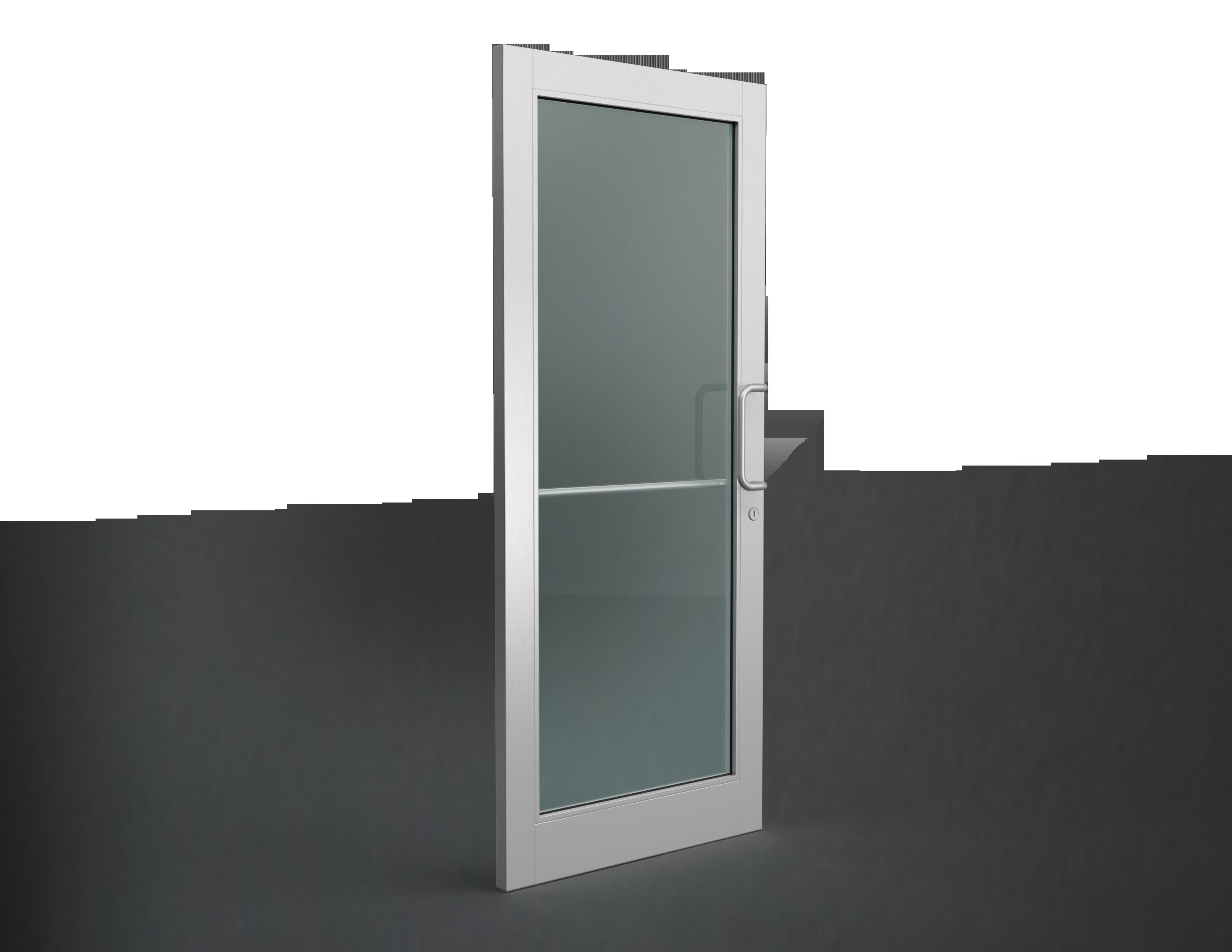 Portes en aluminium pr vost for Porte hq rust