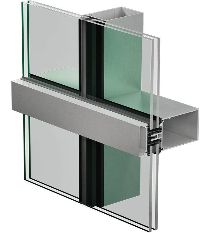3400 HPS curtain wall
