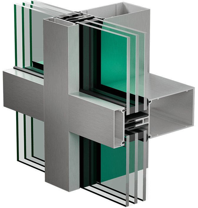 3400 HPT curtain wall