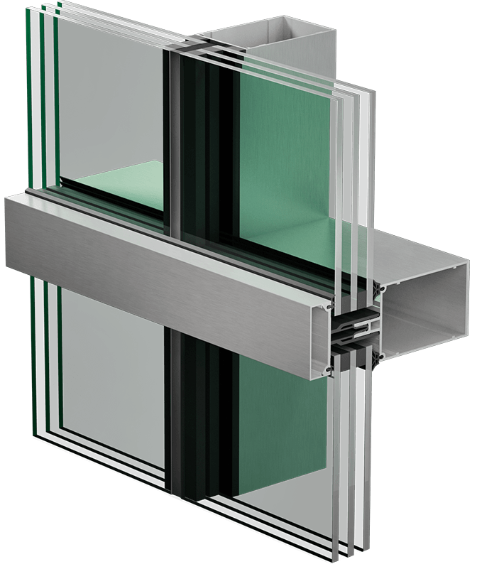 3400 HPTS curtain wall