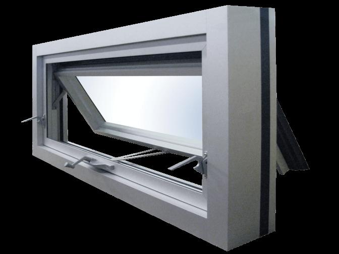 Fenêtres 1330 (volet ouvrant pour insertion dans un mur rideau)