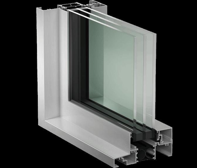 Fenêtres fixes de la série 1300 HPT (Haute performance thermique)