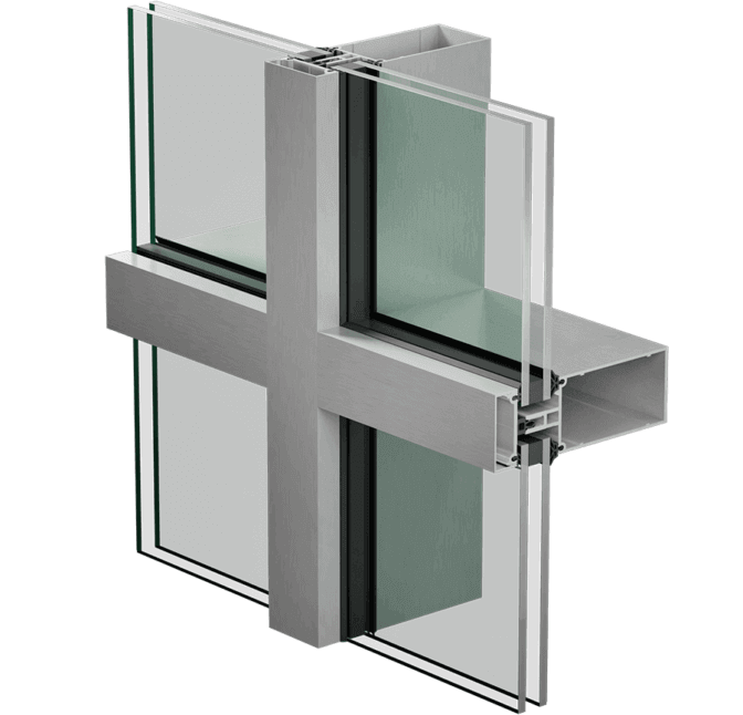 3800 E+ STD curtain wall