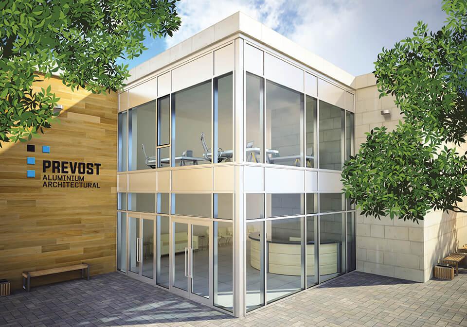 Prevost | Architectural aluminum